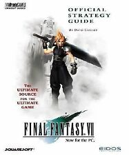 Final Fantasy VII Official Strategy Guide, David Cassady, Acceptable Book
