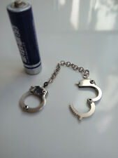 """1:6th Scale Action Figure Toy Model Silver Handcuffs For 12"""" Male & Female Body"""