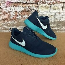 Nike Mens Roshe Run Running Trainers Blue sz UK 10 Gym Shoe Sneakers US 11 EU 45