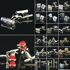 Mens Silver Gold Square Wedding Gift party shirts Cufflinks Cuff Links