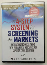 A 4-STEP SYSTEM FOR SCREENING THE MARKETS by Marc Gerstein New Stock TRading DVD