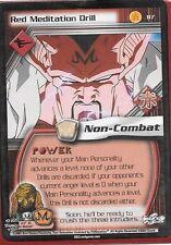 Dragonball Z TCG *Gratis Schutzhülle* | Red meditation drill #117 | 2003