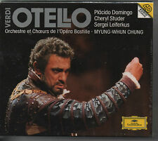 OTELLO,CD BOXED SET, DOMINGO,STUDER,DEUTSCHE GRAMMOPHON NEW,FACTORY SEALED