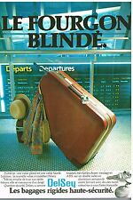 Publicité Advertising 1979 Les Bagages Valises Delsey