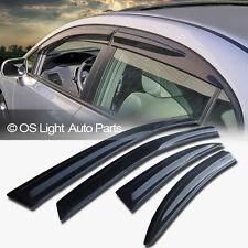 Honda 08-12 Accord 4 Door JDM Smoke Window Vent Sun Shade Guard Visors 4DR/4PCS