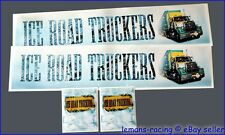 King Knight Tamiya 1/14 Truck Reefer Trailer Decals Scania Wedico ICE ROAD +GIFT