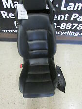 Lamborghini Gallardo LH Front Seat, Black,Yellow Stitching, Power, P/N 400881003