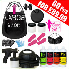 Spray Tanning Machine 650 watt- HVLP Kit - Tent -Solution-Sticky Feet-Fake Tan B