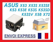 Connecteur carte mère alimentation ASUS X53E X52J X53S X54 X54H DC power jack