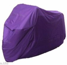 XL Universal Waterproof Anti Wind Snow UV Rain Purple Motorcycle Motorbike Cover