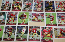 2014 49ERS 50 Card Lot w/ 2013 TOPPS Team Set 28 WEEK 1 PLAYERS Hyde ELLINGTON