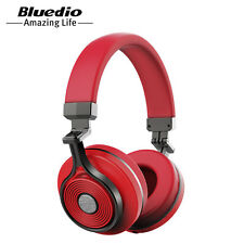 New Bluedio Bluetooth 4.1 Headset T3(Turbine 3rd) Wireless Stereo Headphones Red