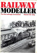 Railway Modeller Magazine - Mar 1980  Class 2 tank engine, 10 ton goods wagon