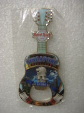 Hard Rock Cafe,SINGAPORE,MAGNET,Guitar Bottle opener