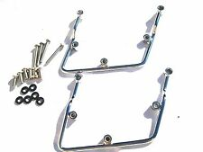 Rigid Hard Soft Saddlebag Saddle Bag Mounts Bracket for Suzuki C50 M50 Boulevard