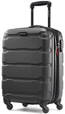"Samsonite Omni 20"" Hardside Spinner Expandable Carry On Luggage - Black"