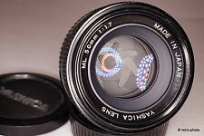 Yashica 50mm f/1.7 ML standard lens, C/Y mount, beautiful, please read [as is]