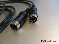 BeoLab Speaker Cable for Bang & Olufsen B&O PowerLink Mk2 (Black, 1 Metre)