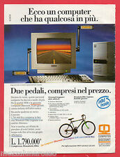Pubblicità Advertising 1994 INTEL INSIDE Personal Computer DEX 486x25