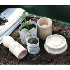 Paper Pot Maker - A great way to recycle old newspapers