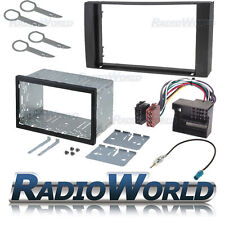 FORD FOCUS / FIESTA double din fascia PANEL Adaptateur Plaque Kit de montage cage ISO