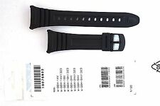 CASIO WATCH BAND: 10076822  BAND FOR W-96  Black Resin Band