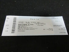 Oasis 2002 Japan Ticket Unused One Beady Eye Liam Noel Gallagher