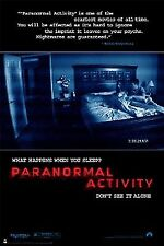 MOVIE POSTER~Paranormal Activity Supernatural Horror Oren Peli Katie Featherston