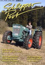 Zeitschrift Schlepper Post Nr. 4 von 2011; Kramer Allrad 714A; Massey Ferguson