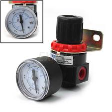 AR2000 Regolatore di Pressione Compressore 11mm Dia. con Manometro Nuovo ex1l