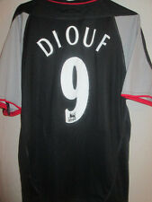 "Liverpool 2002-2003 Diouf #9 Away Football Shirt Size Medium 38""-40"" /5681"