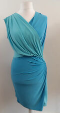 APART jersey dress aqua-bleu SIZE 14 BRAND NEW WITH TAGS BOX8124 N