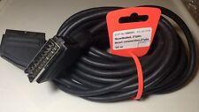 Scartkabel 10meter (21pin) - NEU- SCART / Anschluss / TV / Video / DVD Player
