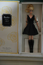 CLASSIC BLACK DRESS BARBIE DOLL, FIRST POSEABLE SILKSTONE BARBIE, DKN07, 2016