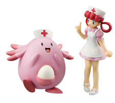 MegaHouse G.E.M. Series Pokemon Joy & Chansey Complete PVC Figure FM3493