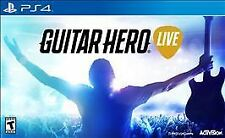Guitar Hero Live Bundle (Sony PlayStation 4) Guitar & Game New & Sealed