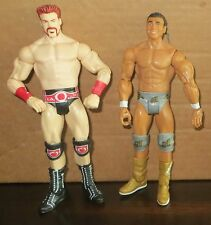 Sheamus & Alberto Del Rio WWE Mattel USED/PLAYED WITH Figure Lot WWF Set