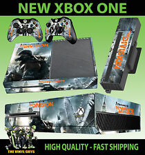 XBOX ONE CONSOLA PEGATINA TOM CLANCY THE DIVISION CITY 001 PIEL & PAD SKINS