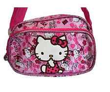 Hello Kitty Small Shoulder Bag Water Resistant Two Compartments Girl, HKP:BAG-34