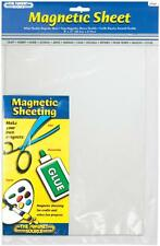 07087 WHITE FLEXIBLE MAGNETIC SHEET