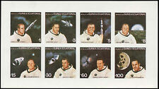 Equatorial Guinea 1970's Astronauts, Space MNH Imperf Sheet #C29002
