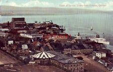 VIEW OF LOWER TOWN FROM CITADEL, QUEBEC CANADA 1911