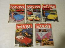 LOT OF 5 1992 DUNE BUGGIES AND HOT VWS MAGAZINES,FEB,JAN,AUGUST,SEPT,0CTOBER