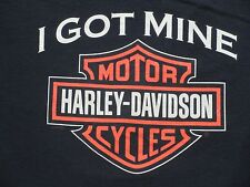 Harley-Davidson T-shirt from Rooster's H-D Sioux City IA   Large   Black