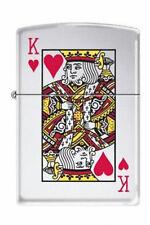 Zippo 7555 king of hearts chrome full size Lighter