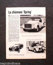 AZ58 - Clipping-Ritaglio -1967-  AUTONOTIZIE , SIATA SPRING