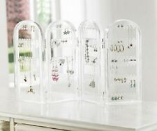 EARRING NECKLACE BROOCH PENDANT DISPLAY AND STORE UNIT - HOLDS UP TO 128 PAIRS