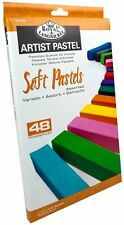 Royal & Langnickel Premium Artist Soft Pastels Assorted Colours 48 Pcs CPA-A48
