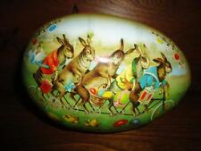 Nestler Made in Germany Famous Easter Egg Bunnies on Bike Chickens