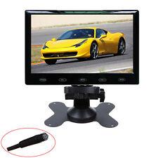 """HD Ultra Thin 7"""" Inch 800x480 TFT LCD Color Audio HDMI VGA Car Rear View Monitor"""